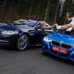 Обезьянничаем за рулём турбоседанов Jaguar XE и BMW 330i