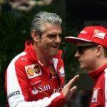Ferrari хочет видеть конкуренцию между Феттелем и Райкконеном