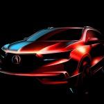 Кроссовер Acura MDX представит передовую трансмиссию